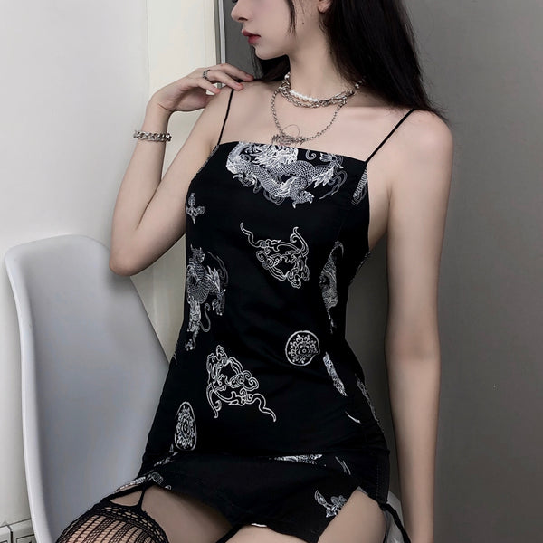 Dragon China Camisole (Black)