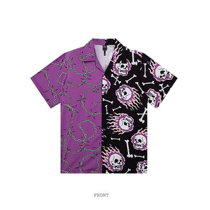 Chain Skull S/S shirt (2 color)