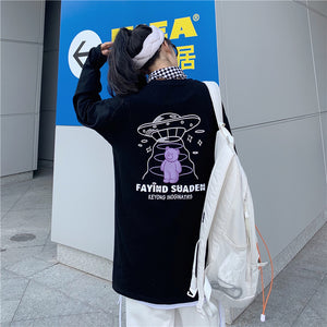UFO Bear L/S T-shirt (2 color)