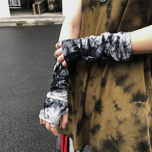 Tie Dye Arm Cover (Black)