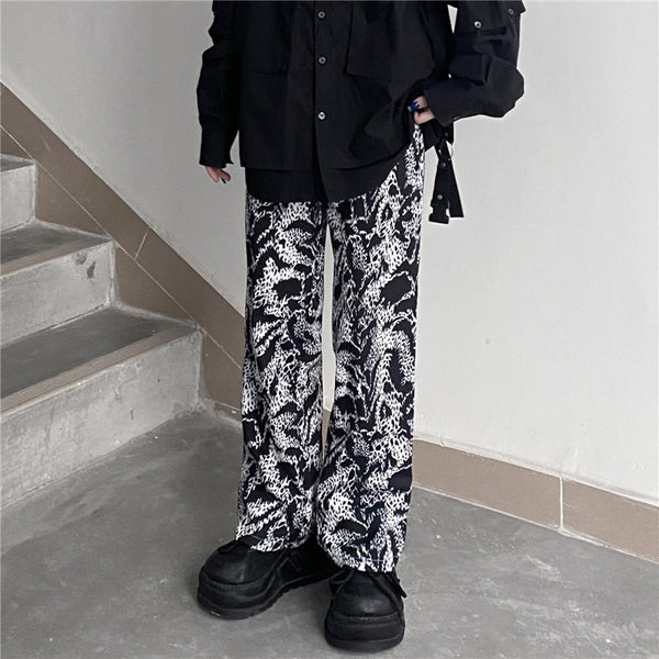 All-over Long Pants (Black)