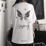 Back Butterfly S/S T-shirt (2 color)