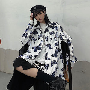 Mono Butterfly L/S Shirt (White)