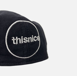 Logo Beret Hat (Black)