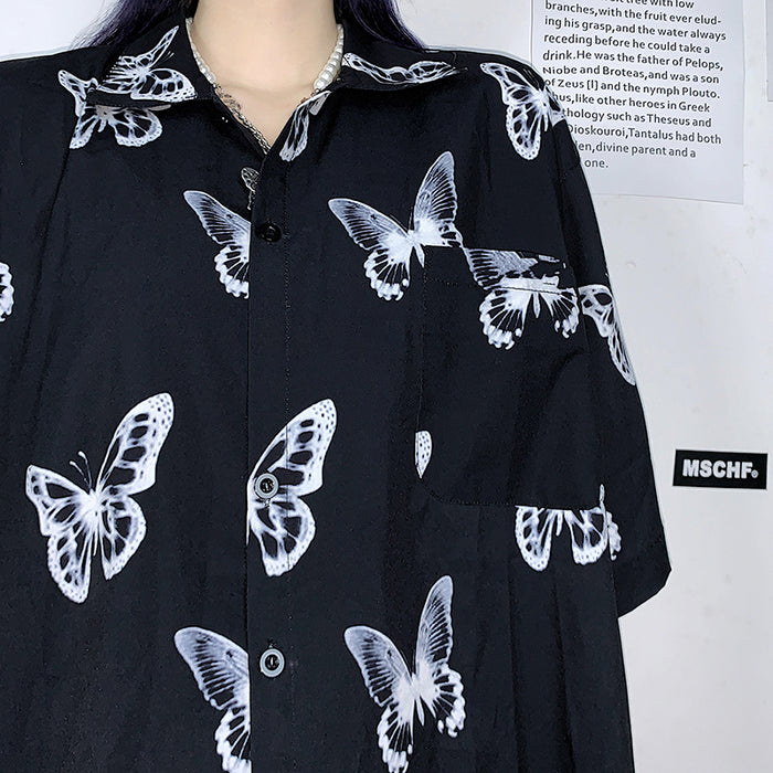 Mono Butterfly S/S Shirt (Black)