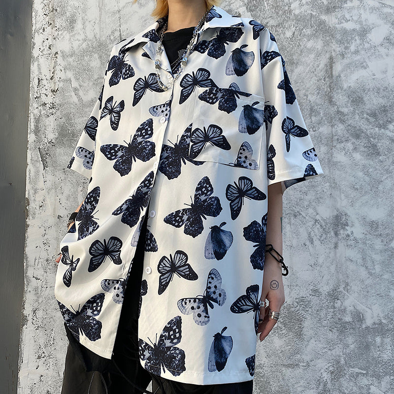 Mono Butterfly S/S Shirt (White)
