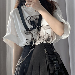 Ring Chain Harness (Black)