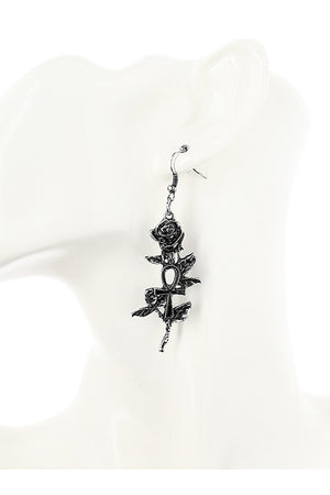 Restyle Gothic Ankh Roses Pierce (2 Colors)