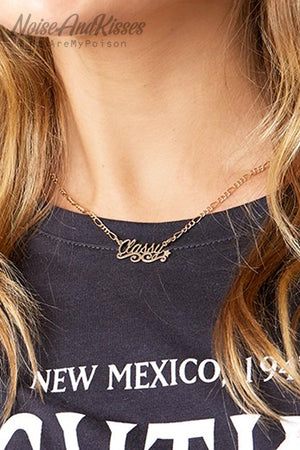 Skinnydip Classy Necklace (Gold)