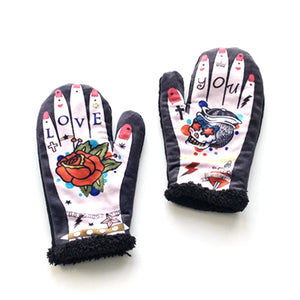 Tattoo Hand Gloves