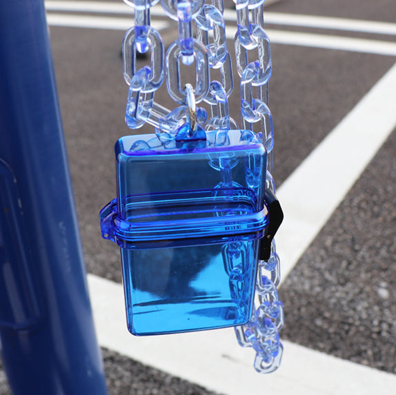 Big Chain Clear Case (Blue)