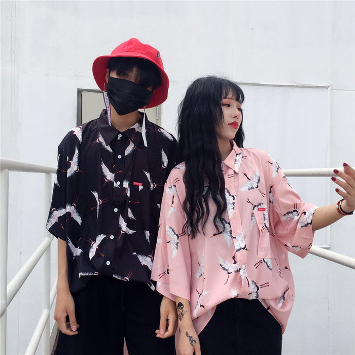 Crane S/S Shirt (2 color)