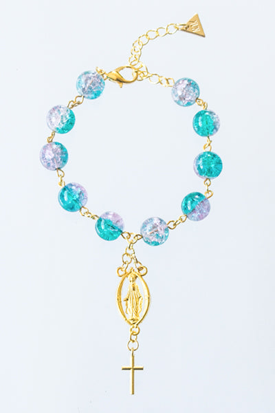 XTS Saint Rosary Bracelet - YOU ARE MY POISON
