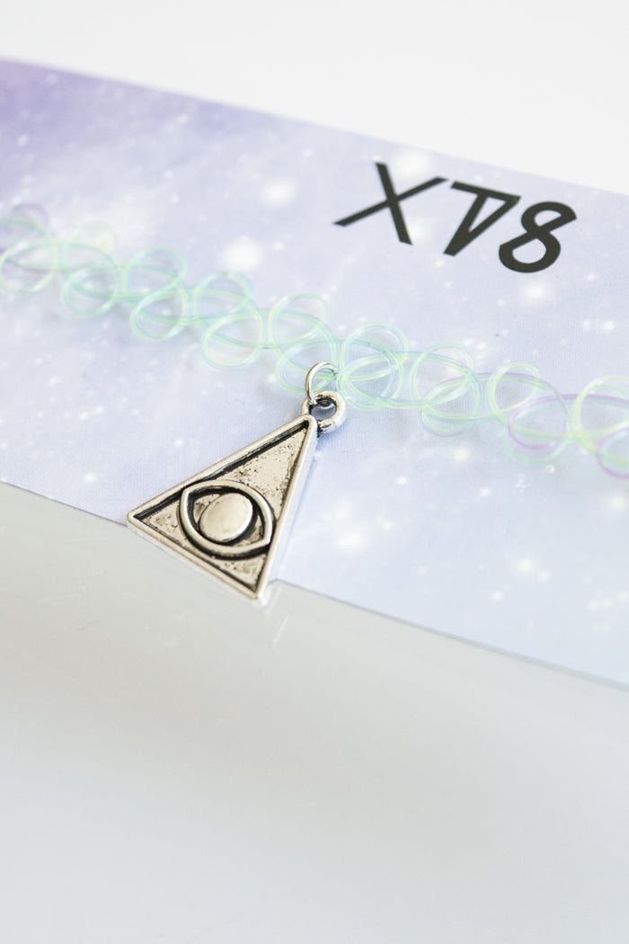 XTS Pyramid Eye Tattoo Choker