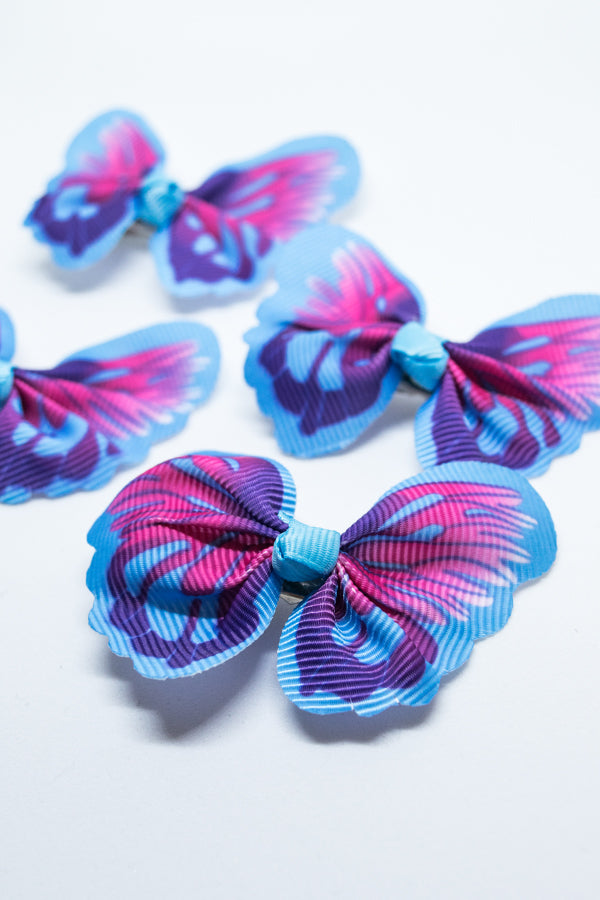 XTS Butterfly Hair Pin 4pcs Set (4 Color)