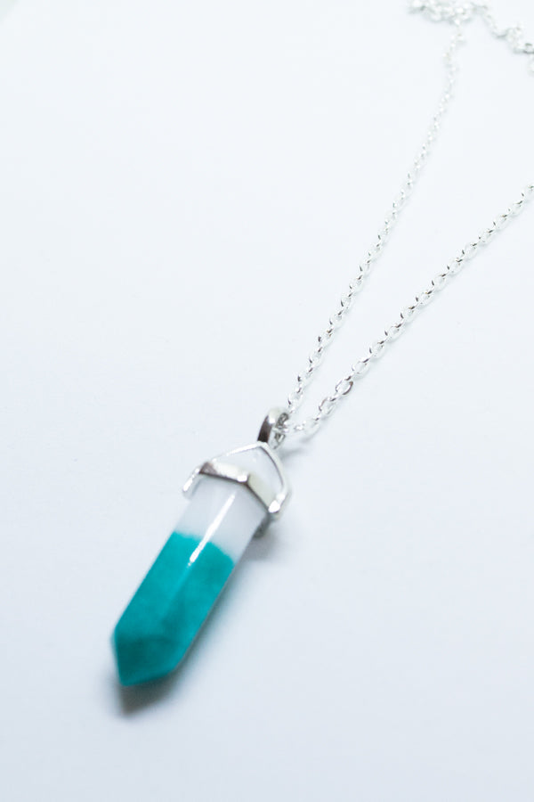 XTS Gradation Stone Necklace (3 Colors)