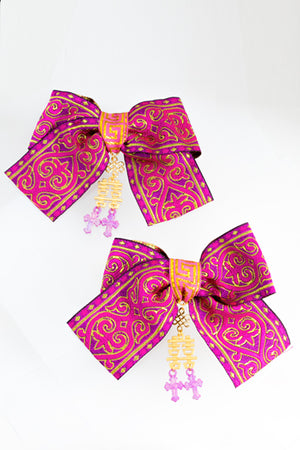 XTS China Ribbon Hair Clip Set 11
