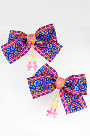 XTS China Ribbon Hair Clip Set 13