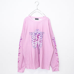ACDC RAG Skeleton Loli-pop L/S T-shirt (Pink)
