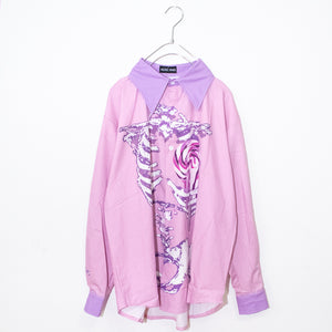 ACDC RAG Skeleton Loli-pop L/S Shirt (Pink)