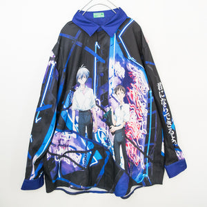 ACDC RAG x Evangelion Kaworu And Shinji L/S Shirt