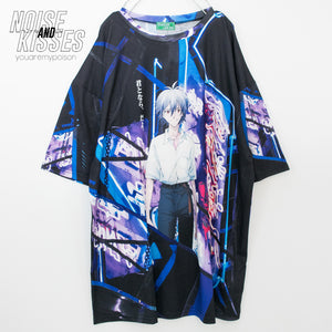 ACDC RAG x Evangelion Kaworu And Shinji Huge T-shirt