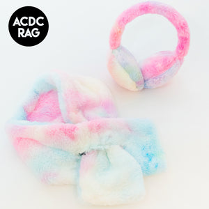 ACDC RAG Ear Warmers And Muffler Set (Pastel)
