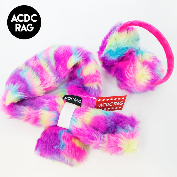 ACDC RAG Ear Warmers And Muffler Set (Vivid)