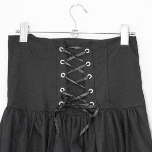 ACDC RAG Asymmetry 2WAY Long Skirt (Black)