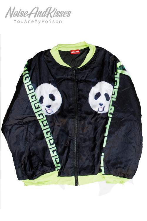 ACDC RAG Printed Light Jacket (Panda Black)