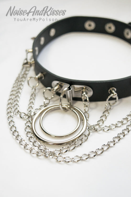 ACDC RAG Ring Chain Choker