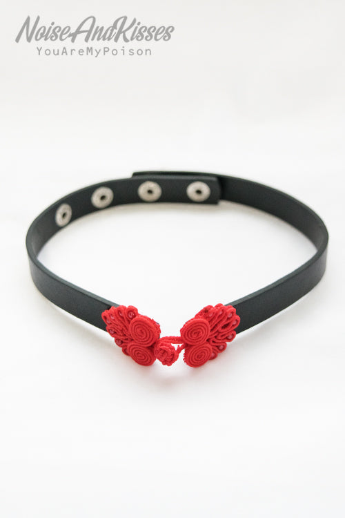 ACDC RAG China Button Choker