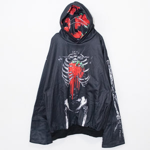 ACDC RAG Skeleton Strawberry Hoodie (Black)