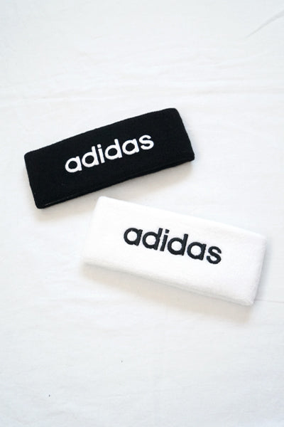 adidas Logo Hair Band (Black)