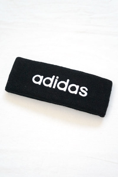 adidas Logo Hair Band (Black) - YOU ARE MY POISON