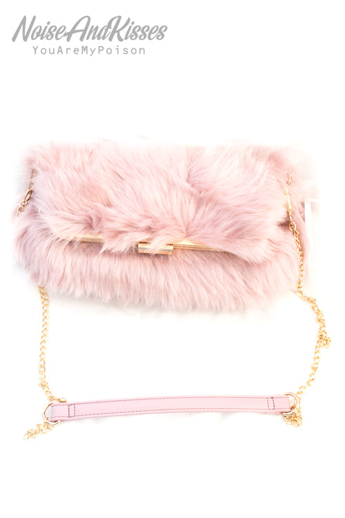 Fur Body 2way Shoulder (3 Colors)