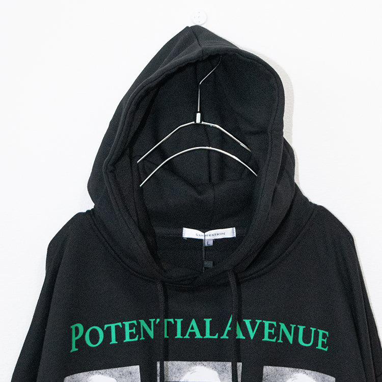 ANARCHY Decoration Pullover Hoodie (Black)