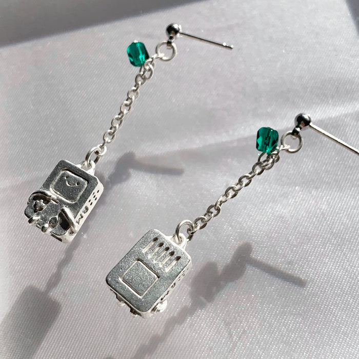 ADVENTURE TIME BMO Pierce (Silver)