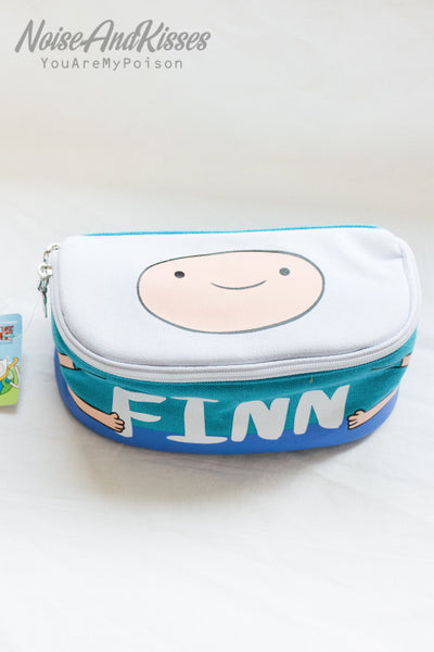 ADVENTURE TIME Full Open Pouch (3 type)