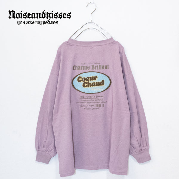 Embroidery Oval Logo L/S T-shirt (4 color)