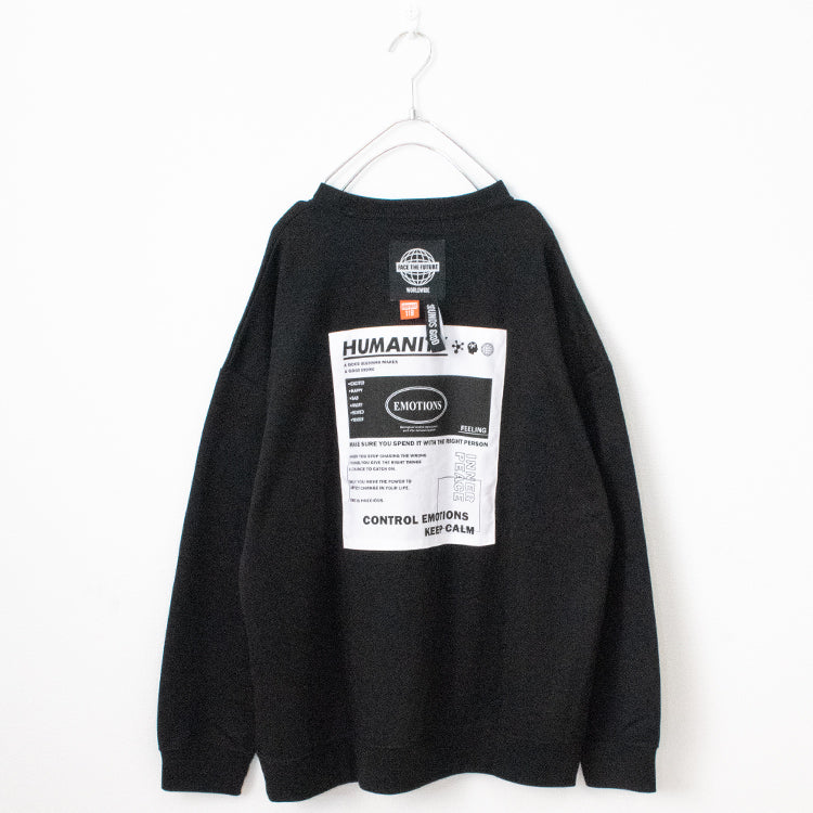 Logo And Patch L/S Sweatshirt (3 color)