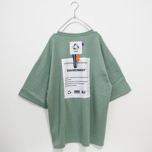 Back Patch Mens S/S T-shirt (3 color)