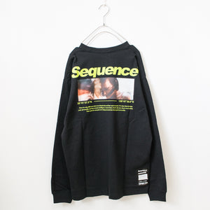 Back Photo Printed Mens L/S Top (2 colors)