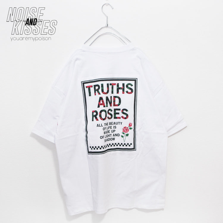 Back Patch Rose S/S T-shirt (2 color)