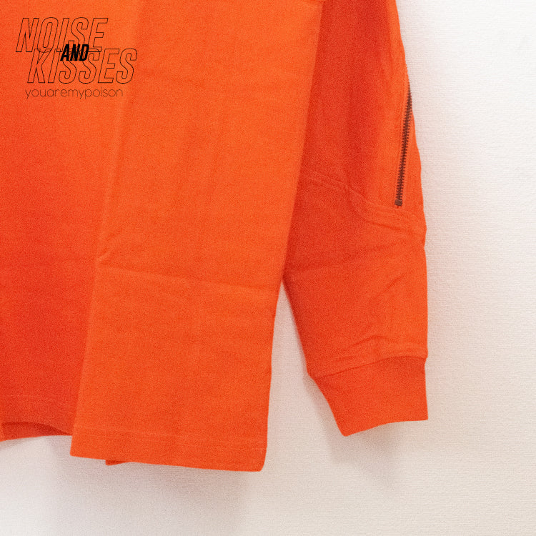Back Zipper Logo L/S T-shirt (3 color)