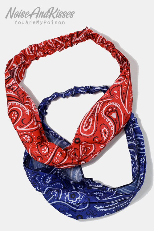 Bandana Hairband (7 color)