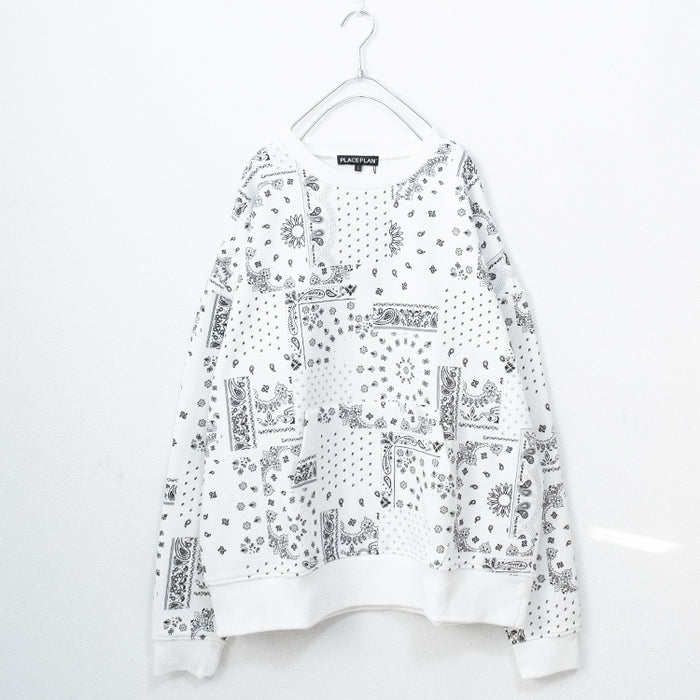 Paisley BIG Sweatshirt (2 color)