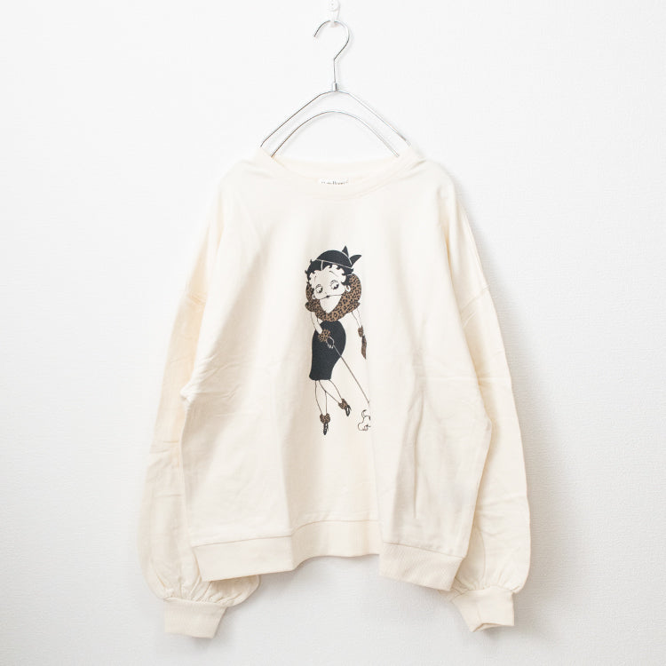 BETTY BOOP Printed Sweatshirt (3 colors)