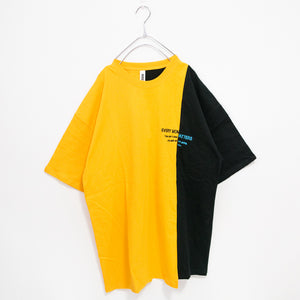 Bi-Color Reflector Logo S/S T-shirt (2 color)