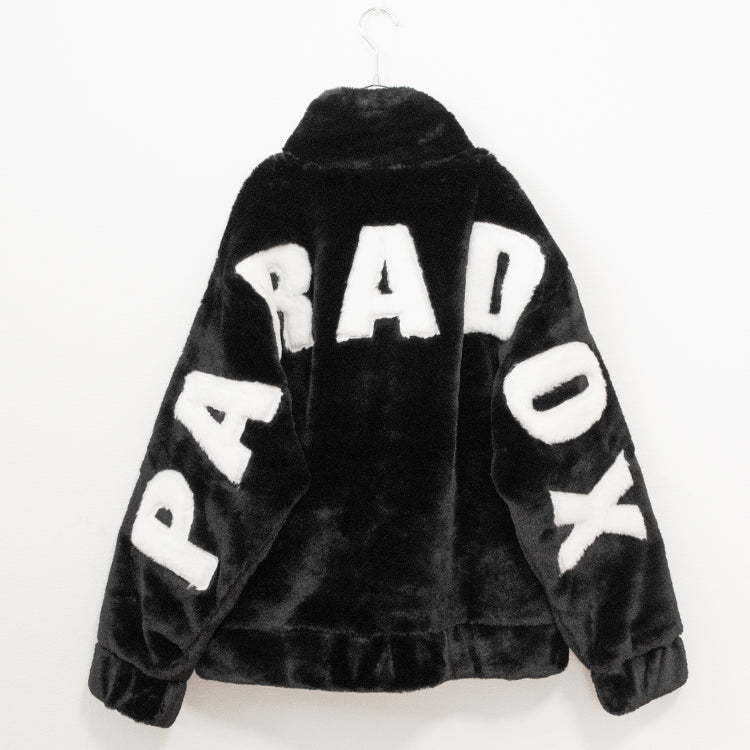 Back Logo BIG ZIP Blouson (Black)